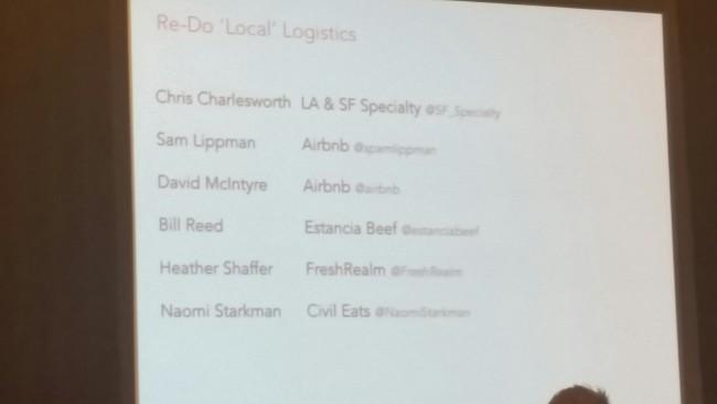 Panel-Teilnehmer Re-Do Logistics