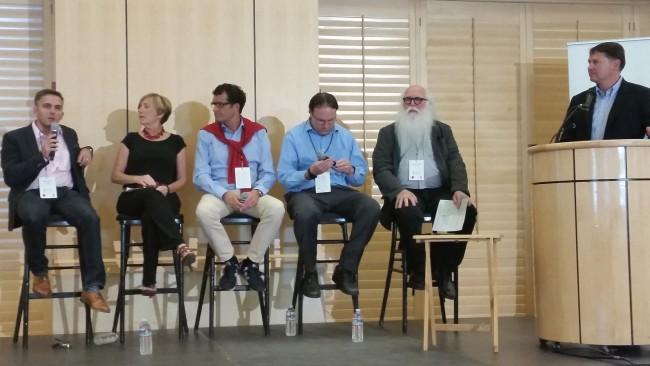 Panel Diskussion @ Standford University (Foto I.Ziegler)