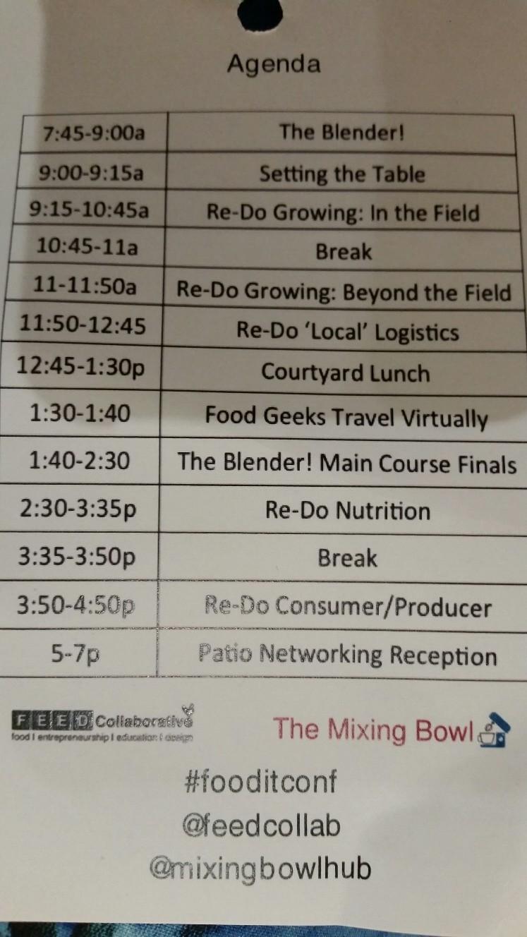 Agenda Food IT Konferenz 2015