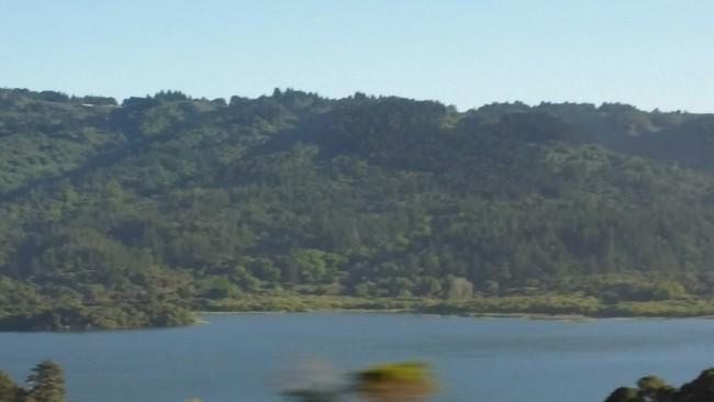 Busfahrt zurück von Stanford nach San Francisco