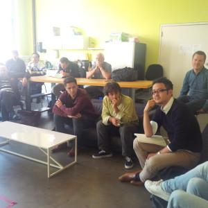 Besuch bei IndieBio (Foto M.J. Grootes)